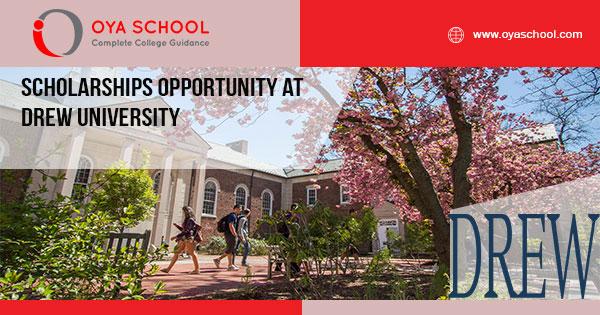 Scholarships Opportunity at Drew University