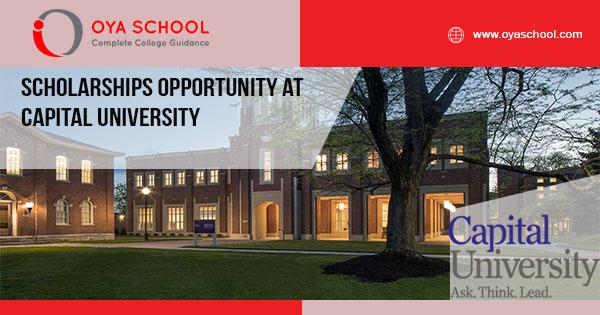 Scholarships Opportunity at Capital University