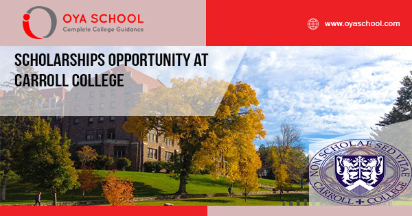 Scholarships Opportunity at Carroll College