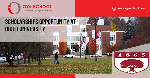 Scholarships Opportunity at Rider University