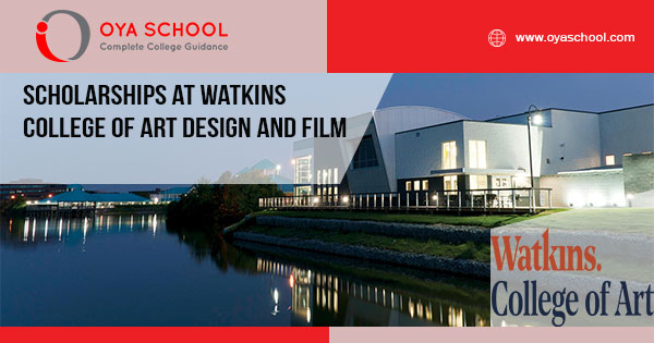 Scholarships at Watkins College of Art Design and Film