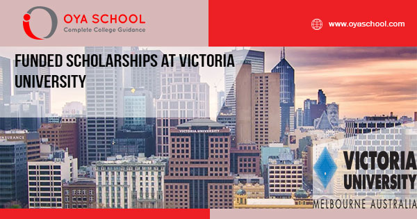 Funded Scholarships at Victoria University