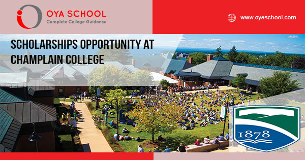 Scholarships Opportunity at Champlain College