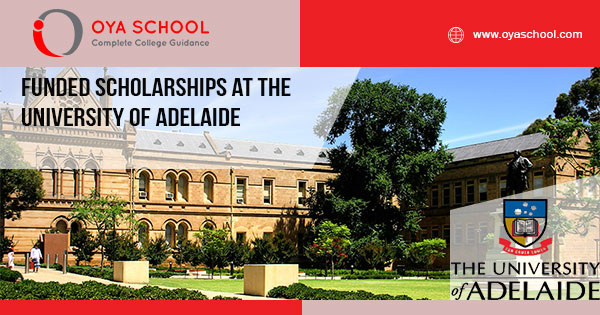 Funded Scholarships at the University of Adelaide