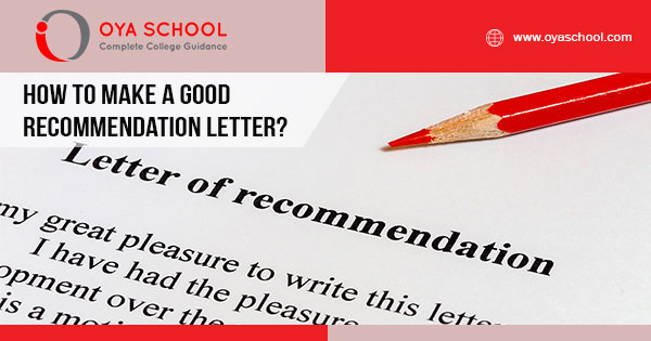 A Good Recommendation Letter.How To Make A Good Recommendation Letter Oya School
