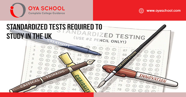 Standardized Tests Required to Study in the UK
