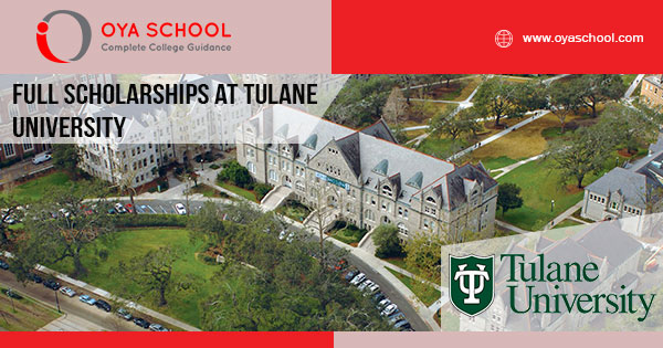 Full Scholarships at Tulane University