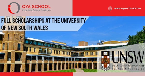 Full Scholarships at the University of New South Wales