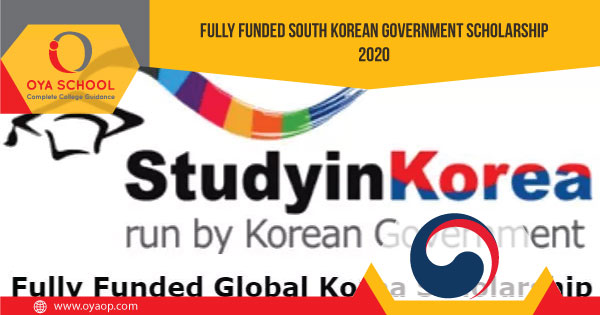 Korean Government announces Fully Funded Scholarship 2020