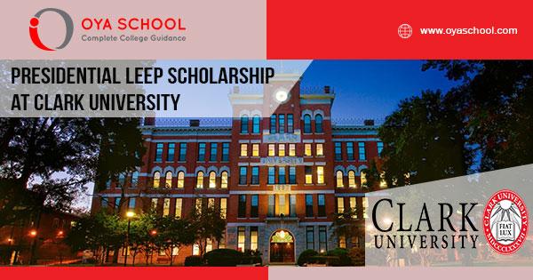 Presidential LEEP Scholarship at Clark University