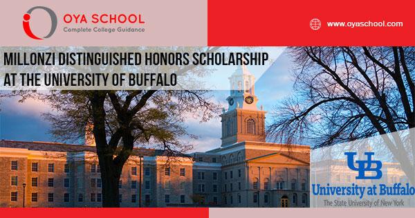Millonzi Distinguished Honors Scholarship at the University of Buffalo