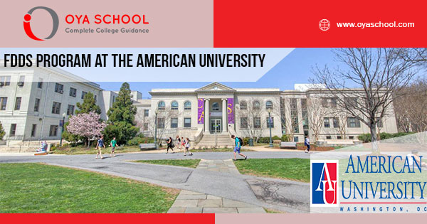FDDS Program at the American University