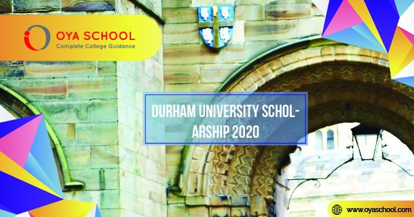 Durham University Scholarship 2020