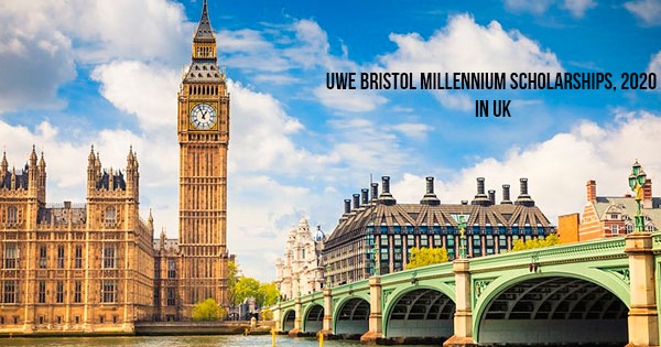 UWE Bristol Millennium Scholarships, 2020 in UK