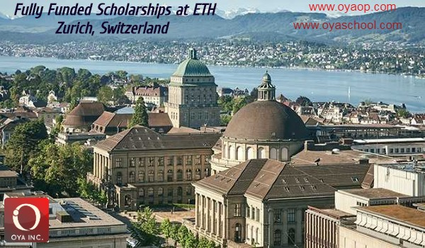 Fully Funded Scholarships at ETH Zurich in Switzerland