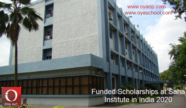 Funded Scholarships at Saha Institute