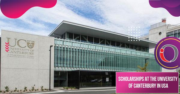 Scholarships at University of Canterbury,New Zealand