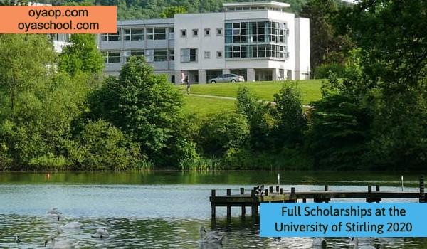 Full Scholarships at the University of Stirling