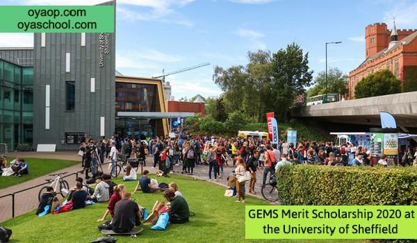 GEMS Merit Scholarship 2020 at the University of Sheffield