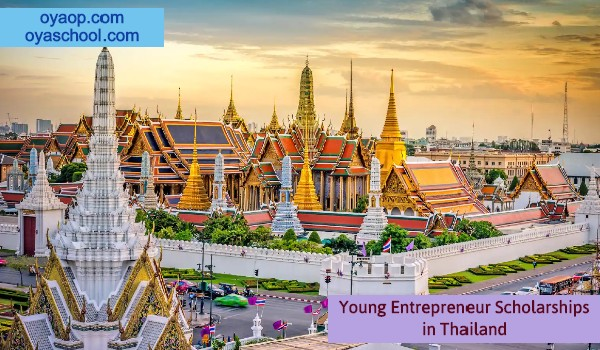 Young Entrepreneur Scholarships in Thailand
