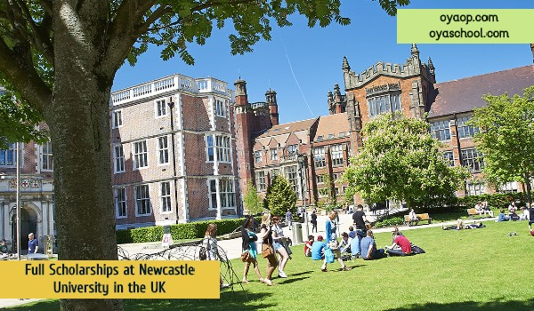 Full Scholarships at Newcastle University in the UK