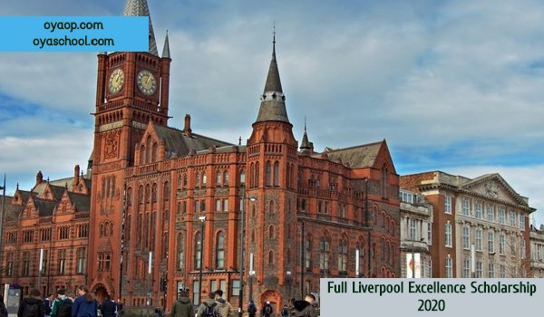 Full Liverpool Excellence Scholarship 2020