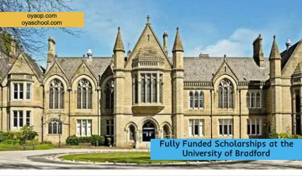 Fully Funded Scholarships at the University of Bradford