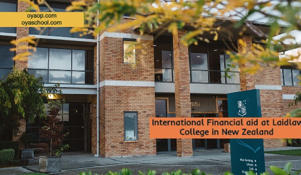International Financial aid at Laidlaw College in New Zealand