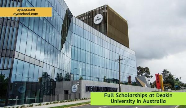 Full Scholarships at Deakin University in Australia