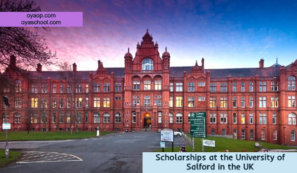 Scholarships at the University of Salford in the UK