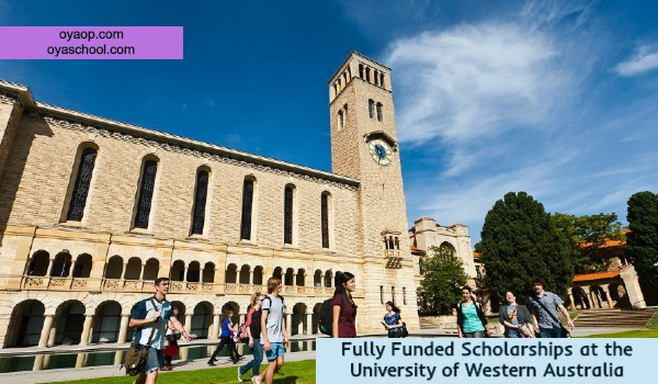 Fully Funded Scholarships at the University of Western Austral