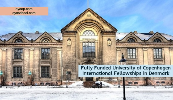 Fully Funded University of Copenhagen International Fellowships in Denmark