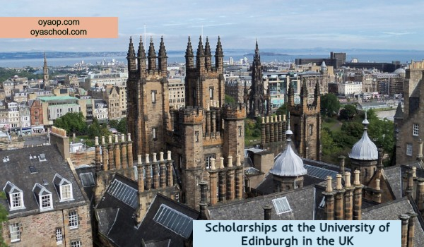 Scholarships at the University of Edinburgh in the UK