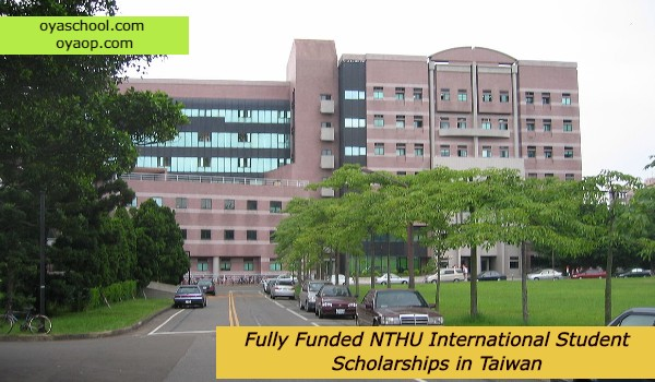 Fully Funded NTHU International Student Scholarships in Taiwan