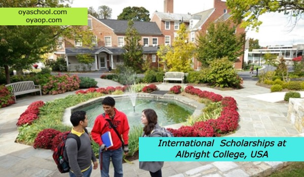 International Scholarships at Albright College, USA