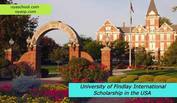 University of Findlay International Scholarship in the USA