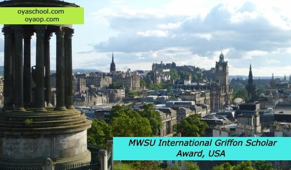 MWSU International Griffon Scholar Award, USA
