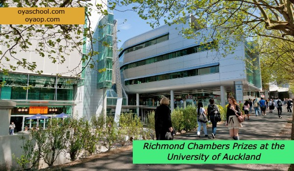 Richmond Chambers Prizes at the University of Auckland