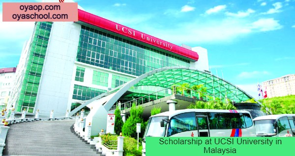 Scholarship at UCSI University in Malaysia