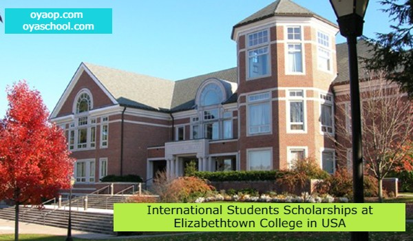 International Students Scholarships at Elizabethtown College in USA