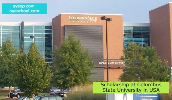 Scholarship at Columbus State University in USA