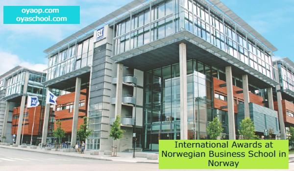 International Awards at Norwegian Business School in Norway