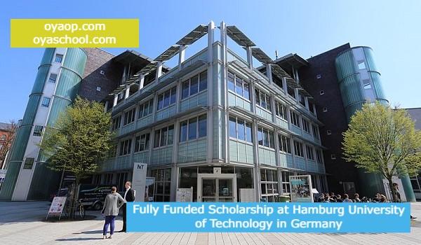 Fully Funded Scholarship at Hamburg University of Technology in Germany