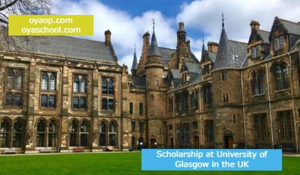 Scholarship at University of Glasgow in the UK