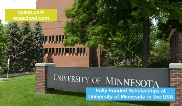Fully Funded Scholarships at University of Minnesota in the USA