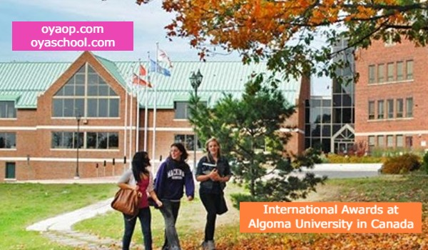 International Awards at Algoma University in Canada
