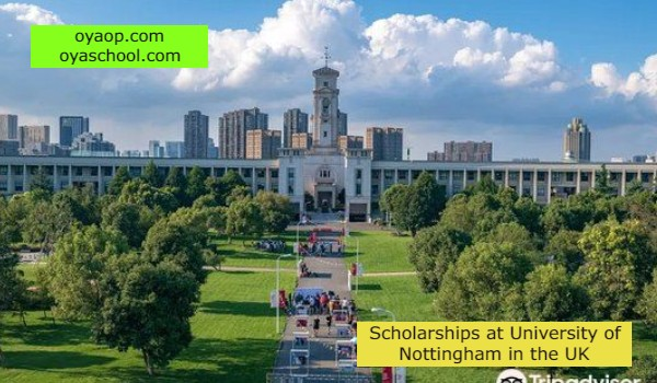 Scholarships at University of Nottingham in the UK