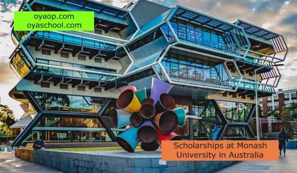 Scholarships at Monash University in Australia