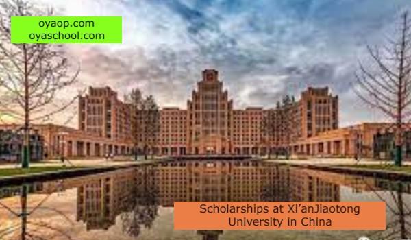 Scholarships at Xi'anJiaotong University in China