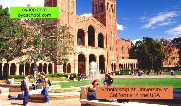 Scholarship at University of California in the USA